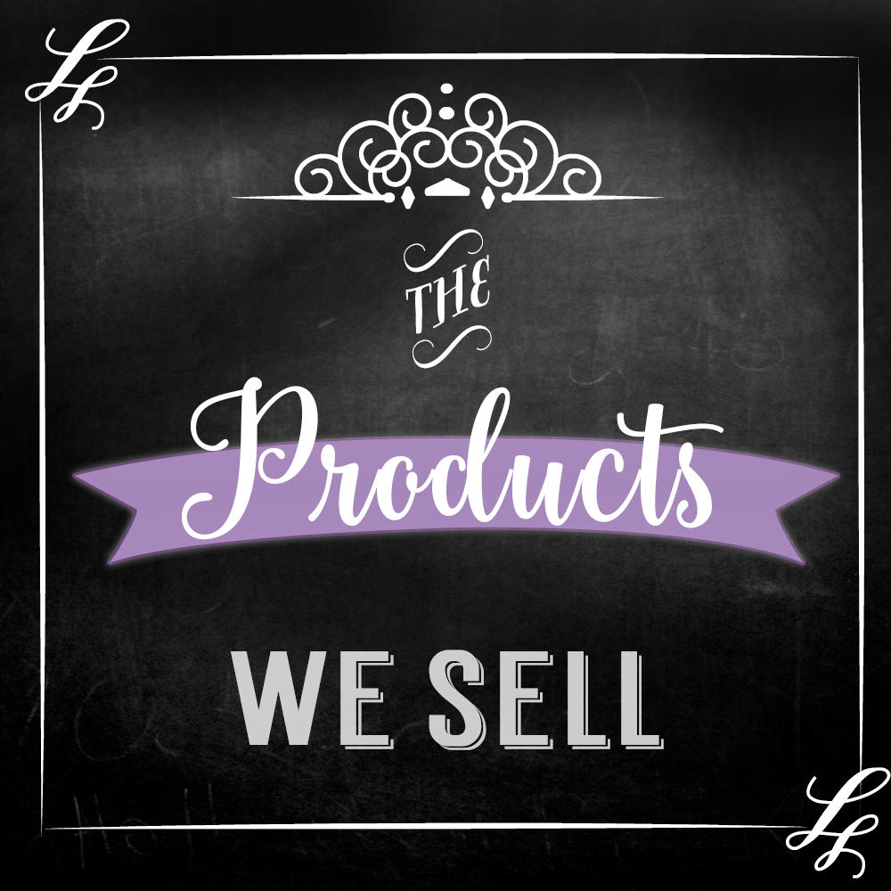 products we sell