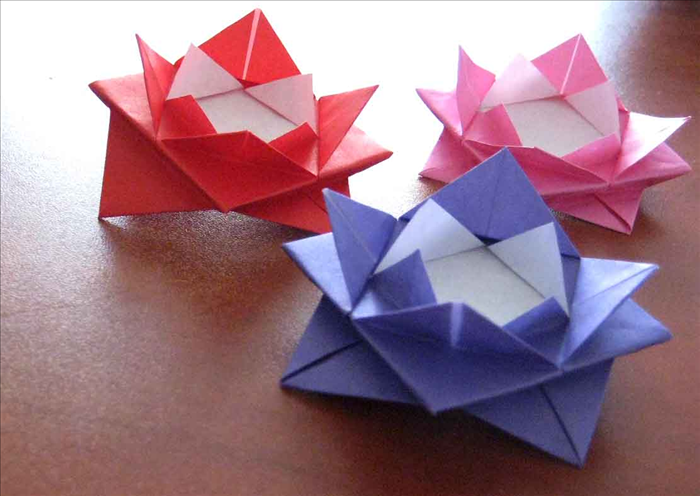Origami Water Lily Class - The Craft Box - photo#2
