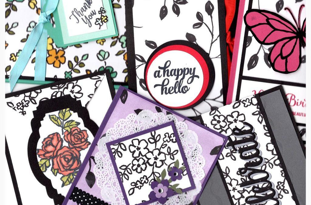 """""""One Sheet Wonder Cards (Cardmaking)"""" #0518-03"""