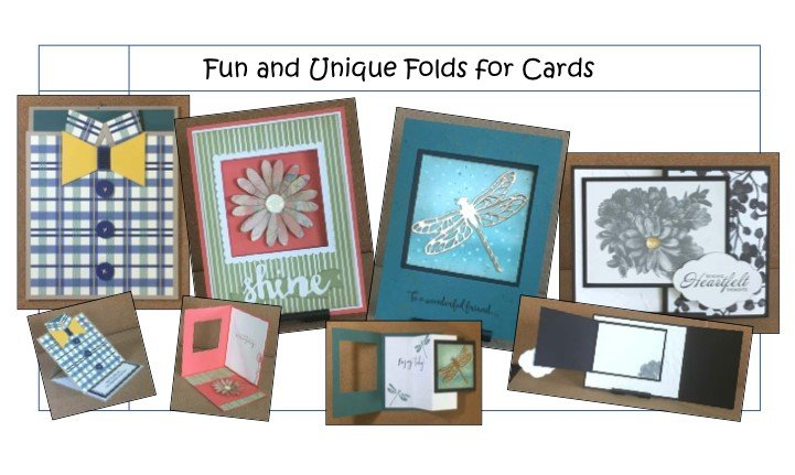 """Fun & Unique Folds for Cards (Cardmaking)"" #0618-02"