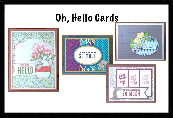 """Oh, Hello Cards (Cardmaking)"" #0618-03"