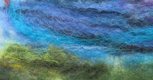 """Introduction to Wet Felting"" #1218-07"