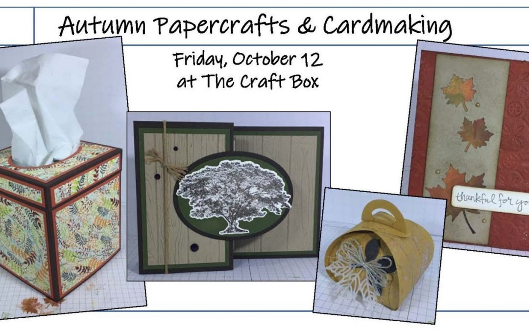 """Autumn Paper Crafts & Greeting Cards"" #1018-09"