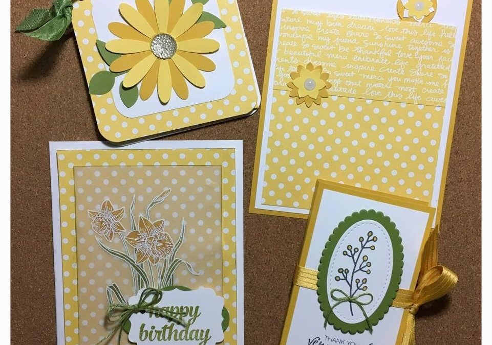 """4 Great Things, Made From 1 Sheet of Designer Paper! (Papercrafting)"" #0319-05"