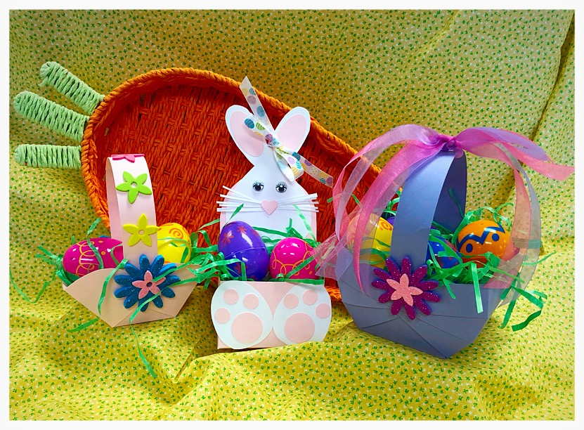 """""""Easy Paper Easter Baskets (Papercrafting)"""" #0319-06"""