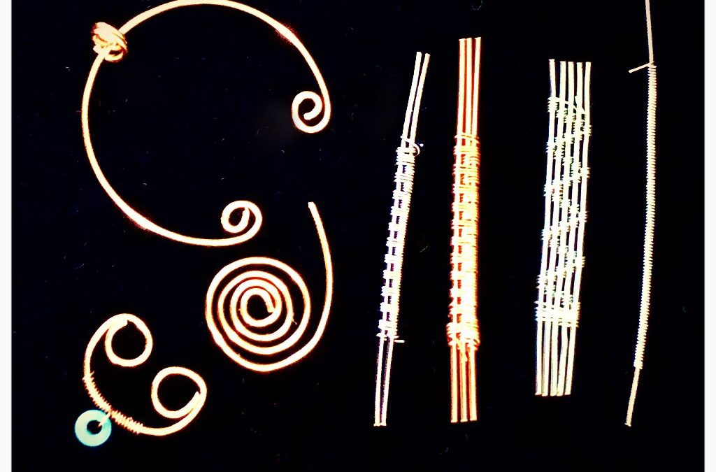 """Wire Weaving 1 – Technique (Jewelry Making)"" #0619-05"